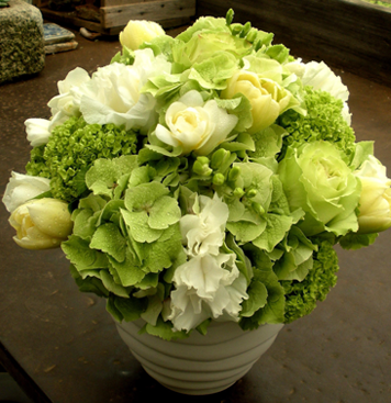Floral-Designs-#13-White-and-green-rs